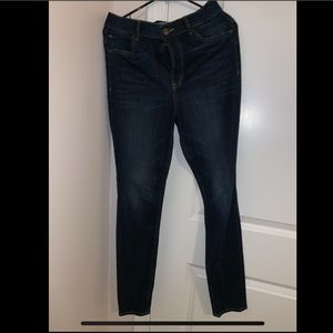 Express High Waisted Jeans